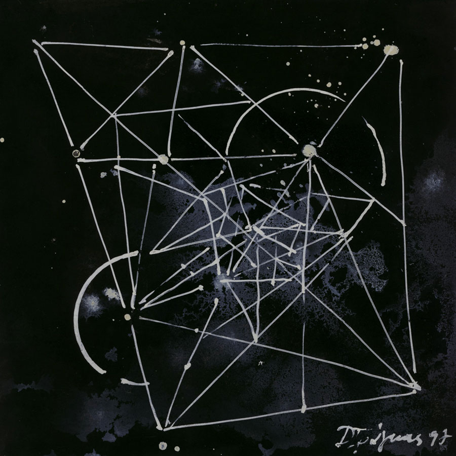 Space, 1997, ink on paper, 25x25cm