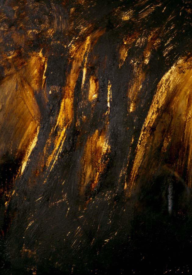 Tree, 1998, mixed media on cardboard, 70x100cm