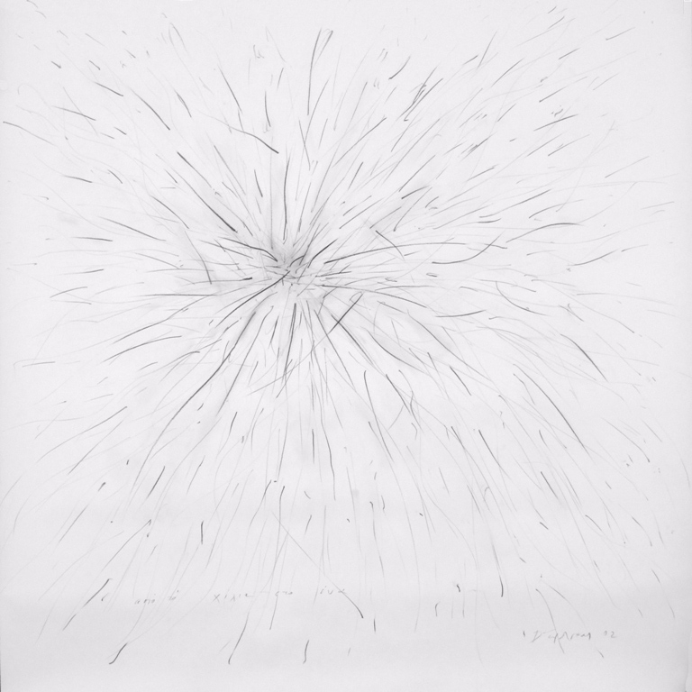 from-one-to-a-thousand-2002-graphite-on-paper-150x150cm