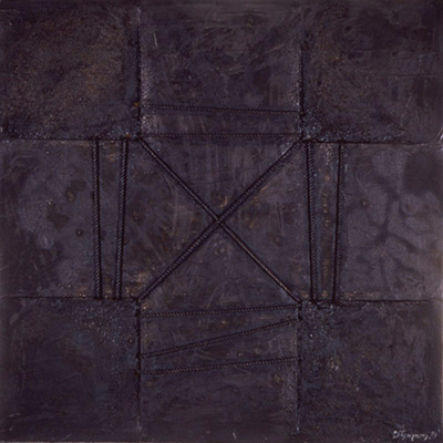 the-Bound-Cross-1989-mixed-media-on-canvas-180x180-cm-6